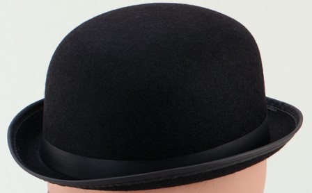 Black costume hat