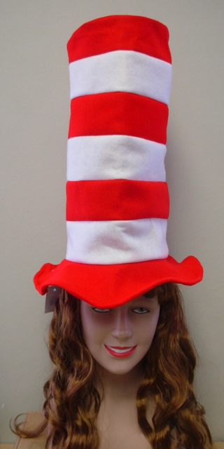 Cat in the hat style hat