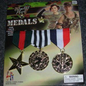 Combat medals