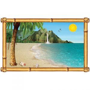 Hawaiian themed decor