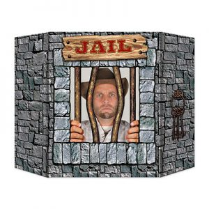 Prisoner photo prop