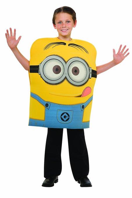 Minion child costume