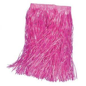 Hula skirt pink