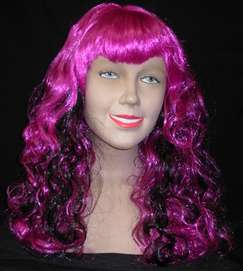 Purple Oracle wig