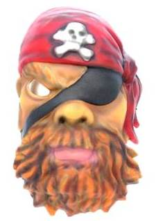 Pirate mask decortion