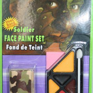 Soldier make-up kit