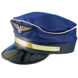 Pilot captain hat