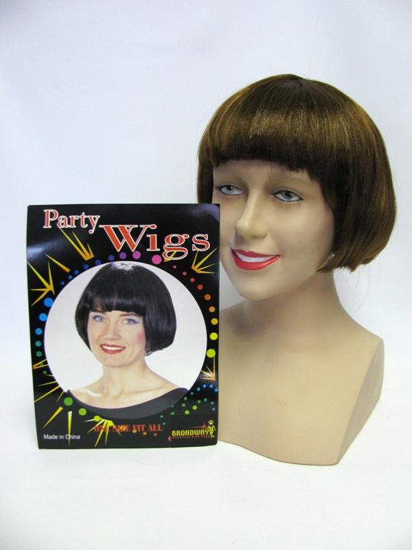 Bob wig with fringe