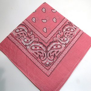 Pink cowgirl scarf