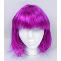purple bob wig