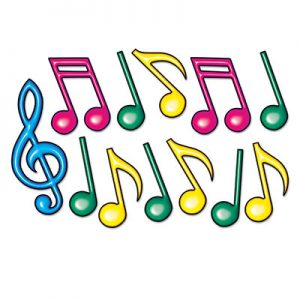 Musical note decor