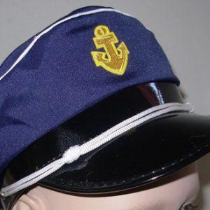 Sailor captain's hat