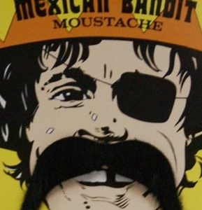 Mexican droopy moustache