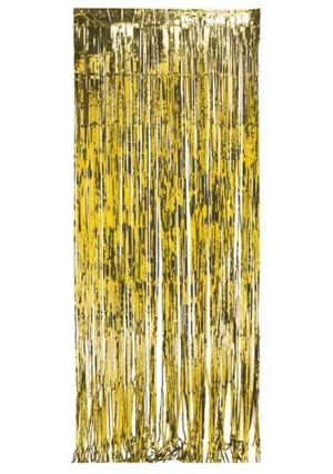 Foil curtain - gold