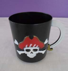Plastic pirate cup