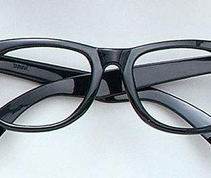 Black rimmed glasses
