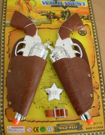 Cowboy gun set