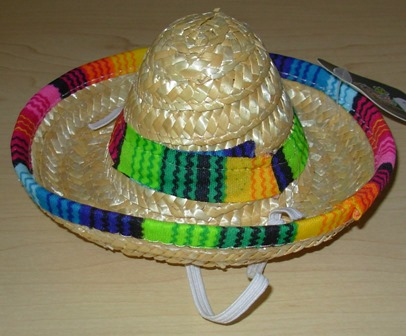 Mini Mexican sombrero
