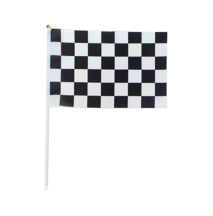 Black & white flag