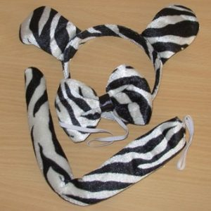 Zebra dress up set