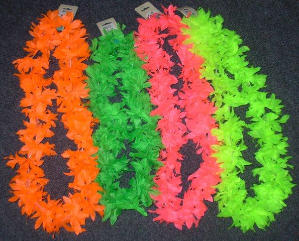 Coloured leis