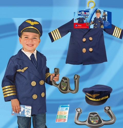 Child pilot costume