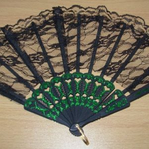 Back lace fan