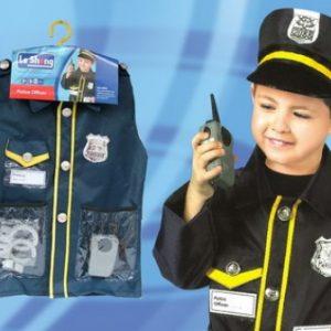 Policeman chld costume