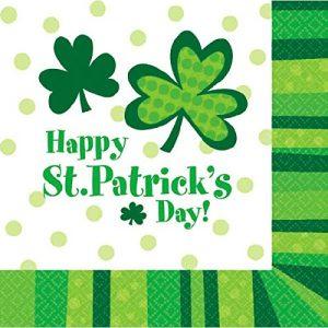 St Patrick's day napkins