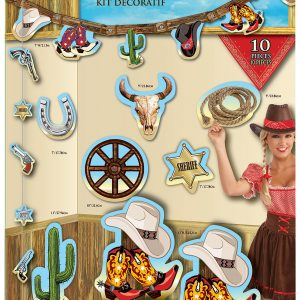 western decorating kit