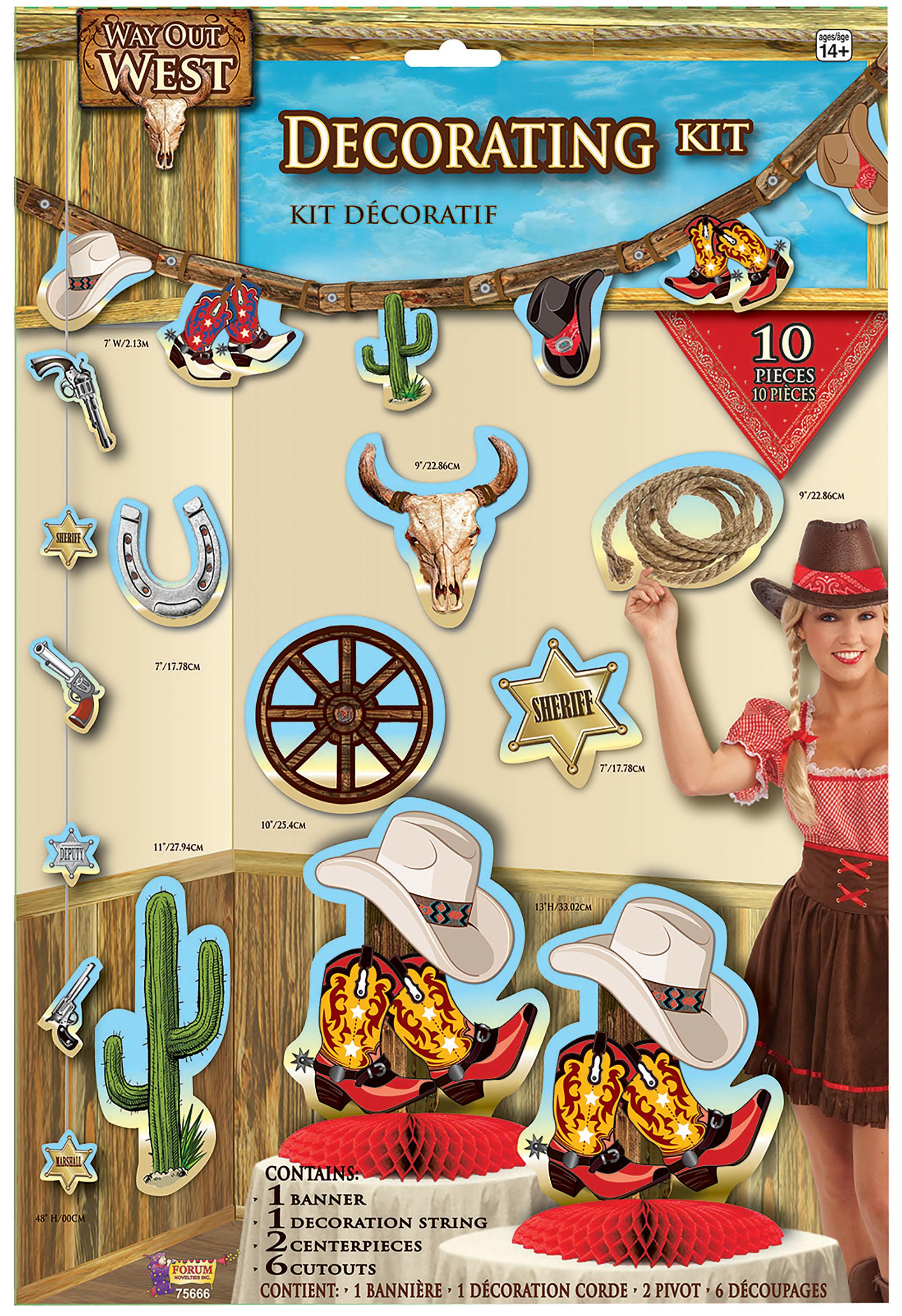 western decorating kit