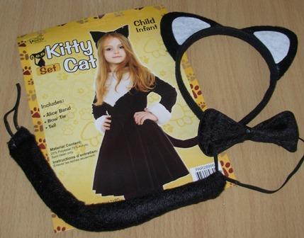 Cat dress up kit