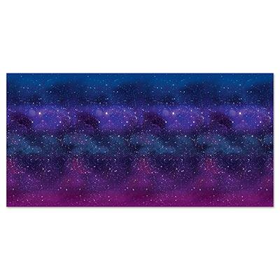 Outer space galaxy decor