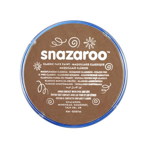 Snazaroo face paint beige brown