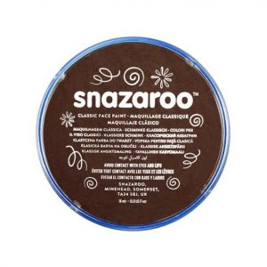 Snazaroo face paint dark brown