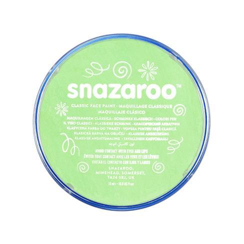 Snazaroo face paint light green
