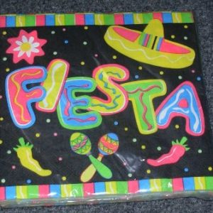Mexican Fiesta napkins
