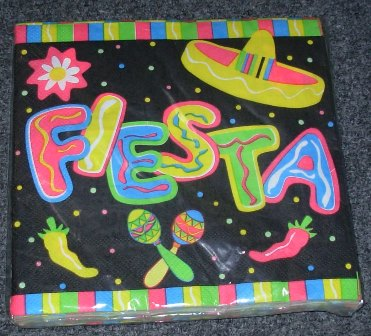 Mexican Fiesta napkins