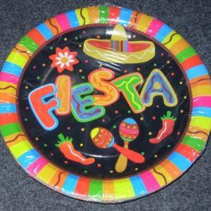 Mexican Fiesta plates