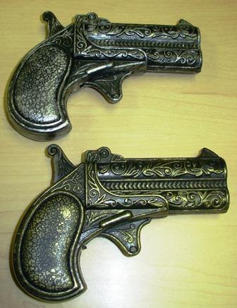 Antique style pistols