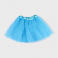 Blue net adult tutu