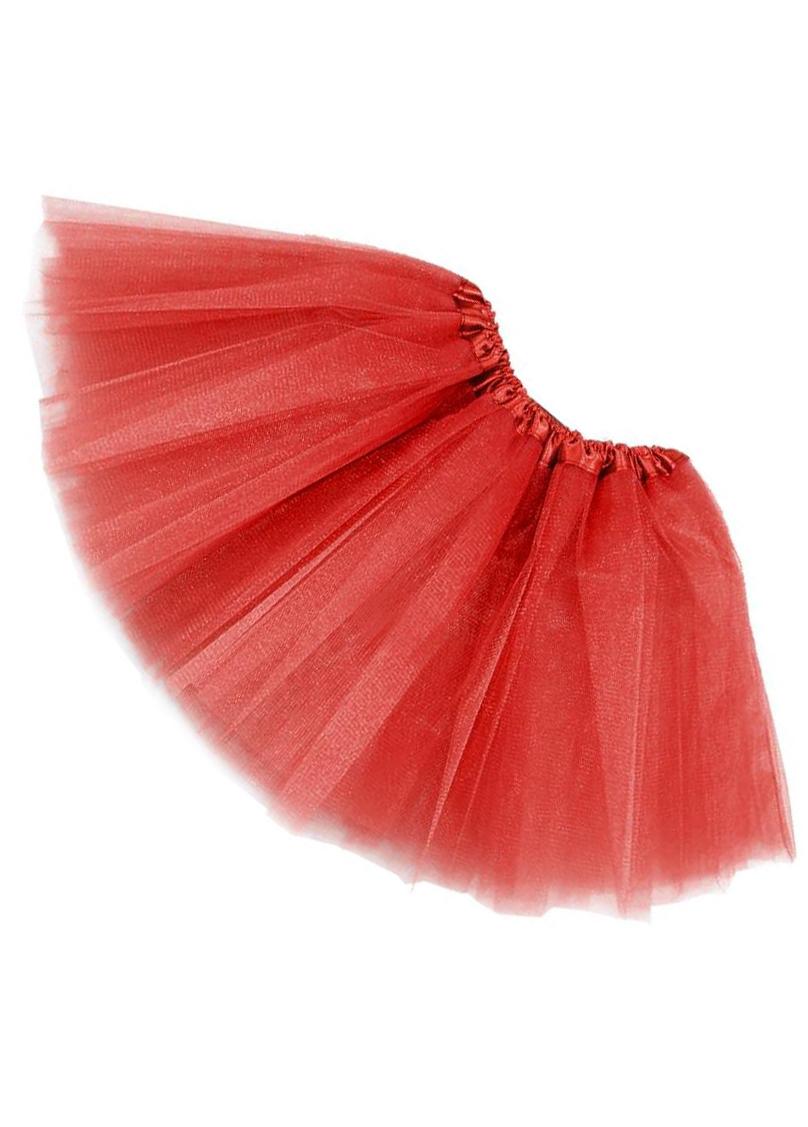 Tutu net skirt - red