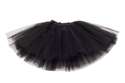 Black net adult tutu