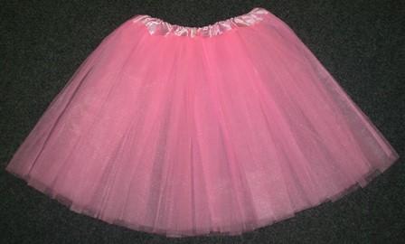 Pink tutu skirt - adult