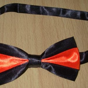 Red & black bowtie