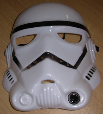 Storm trooper mask