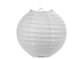 White paper lantern 20cm