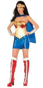 Wonderwoman Deluxe - Size: Medium