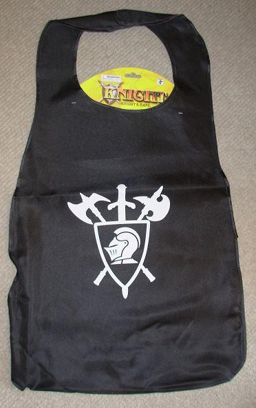 Black knight's cape