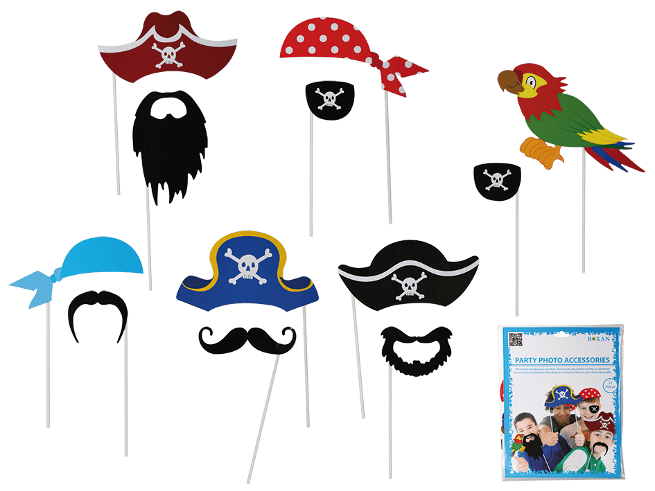 Pirate photo props